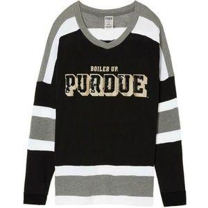 Victoria Secret Purdue University Bling PullOver